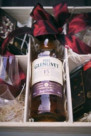alkohol na prezent prezent na święta